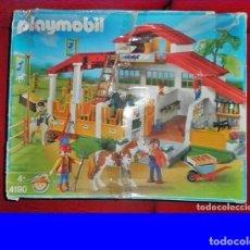 Playmobil: ANTIGUA GRANJA PLAYMOBIL. CABALLOS, HÍPICA. 4190.. Lote 190200520