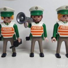 Playmobil: LOTE OFICIAL POLICIA PLAYMOBIL POLIZEI AGENTE CONTROL POLICIAL SEGURIDAD. Lote 190571726