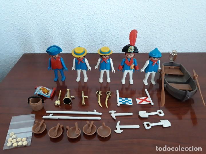 FAMOBIL 3282. MARINEROS INGLESES (Juguetes - Playmobil)