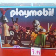 Playmobil: ENTRENAMIENTO CABALLERO TORNEO REF.3668.PLAYMOBIL MEDIEVAL 1993.NUEVO EN CAJA SIN ABRIR.. Lote 191097697