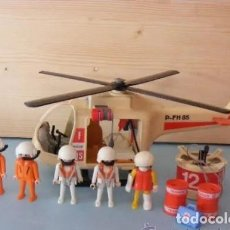 Playmobil: PLAYMOBIL MEDIEVAL HELICOPTERO DE RESCATE PLAYMOBIL (AÑO 1987) 3789. Lote 191209132