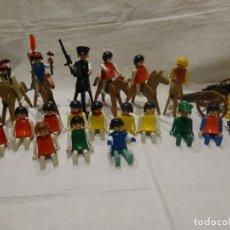 Playmobil: LOTE PLAYMOBIL FIGURAS OESTE, MEDIEVAL Y OTROS, GEOBRA 1974. Lote 191394158