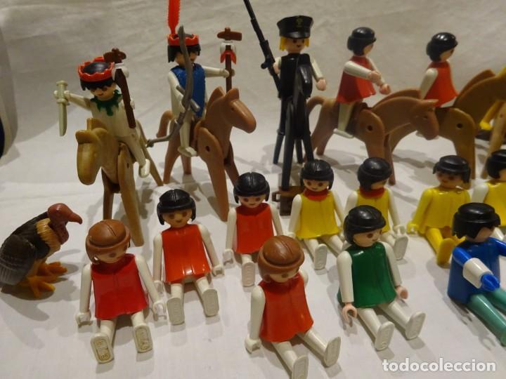 Playmobil: LOTE PLAYMOBIL FIGURAS OESTE, MEDIEVAL Y OTROS, GEOBRA 1974 - Foto 2 - 191394158
