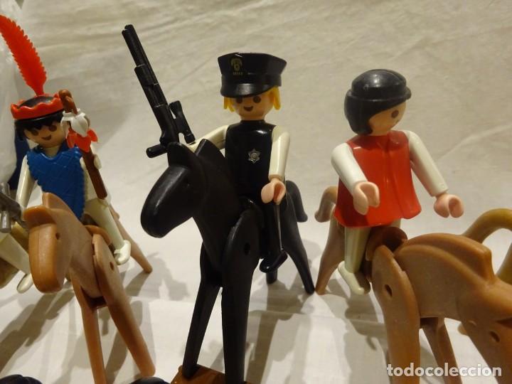 Playmobil: LOTE PLAYMOBIL FIGURAS OESTE, MEDIEVAL Y OTROS, GEOBRA 1974 - Foto 3 - 191394158