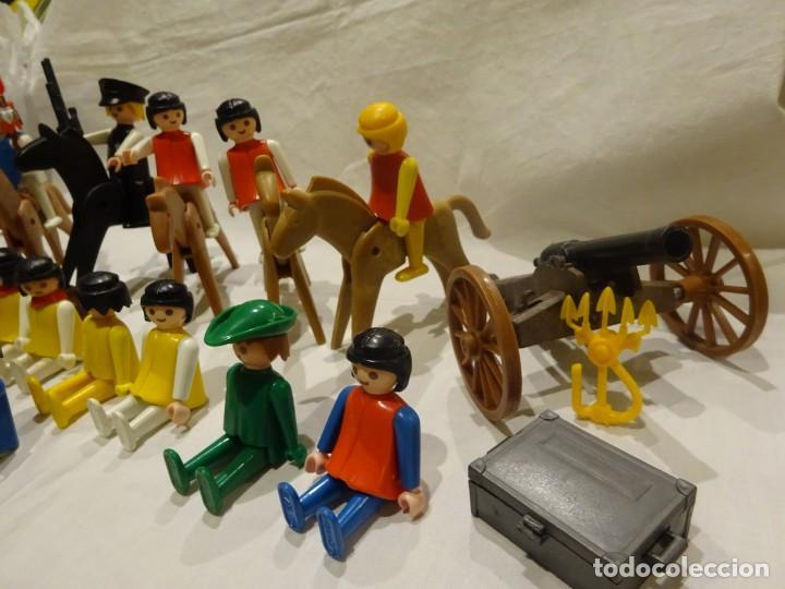 Playmobil: LOTE PLAYMOBIL FIGURAS OESTE, MEDIEVAL Y OTROS, GEOBRA 1974 - Foto 4 - 191394158