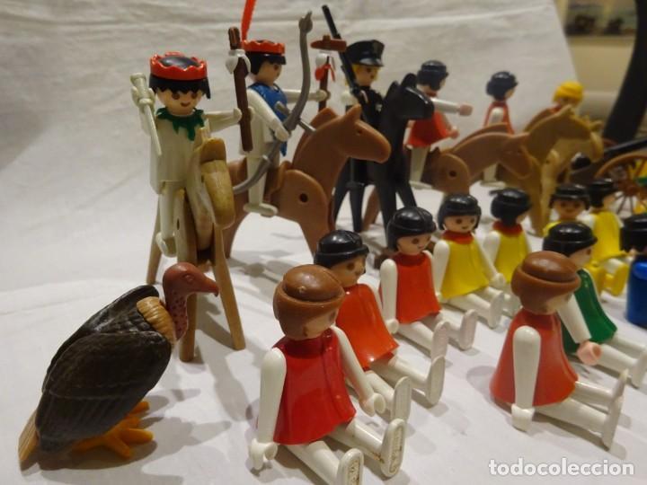 Playmobil: LOTE PLAYMOBIL FIGURAS OESTE, MEDIEVAL Y OTROS, GEOBRA 1974 - Foto 5 - 191394158