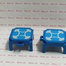 Playmobil: PLAYMOBIL 2 PLATAFORMAS CIRCO ELEFANTE TABURETE ELEVADOR. Lote 191435601
