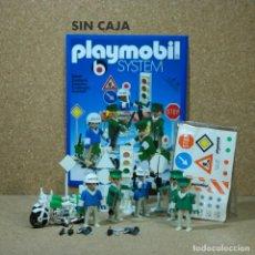 Playmobil: PLAYMOBIL 3488 COMPLETO SIN CAJA, 5 POLICÍAS CON 2 MOTOS, KLICKY PRIMERA ÉPOCA CIUDAD. Lote 193291243