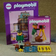 Playmobil: PLAYMOBIL 5401 COMPLETO CON CAJA, FOTÓGRAFO CON CÁMARA VICTORIANO SERIE ROSA MANSIÓN 5300. Lote 210068717