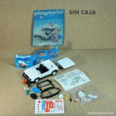 Playmobil: PLAYMOBIL 3217 COCHE BLANCO CON PEGATINAS EN ESPAÑOL, COMPLETO, MEDICO AMBULANCIA PRIMERA ÉPOCA AUTO. Lote 193870907