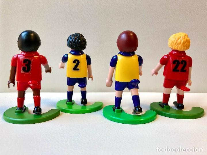Playmobil: Lote de 4 Clicks. Fútbol. Playmobil. Click. Futbolistas. Famobil - Foto 2 - 194222866