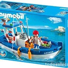 Playmobil: PLAYMOBIL 5131 BARCO PESQUERO.NUEVO.. Lote 194227802