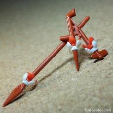 Playmobil: PLAYMOBIL HACHA LANZA Y PIPA, INDIO JEFE OESTE WESTERN ARMA ARMAS 3352 3406 3251 3569. Lote 194255016