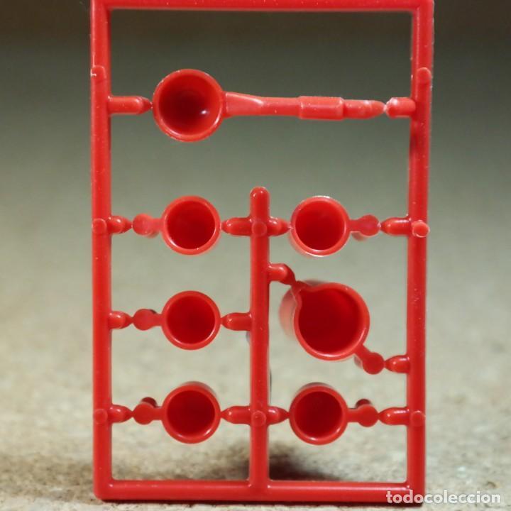 Playmobil: Playmobil tazas jarra y cucharon rojos, casa western lejano oeste cocina utensilios - Foto 2 - 194255137