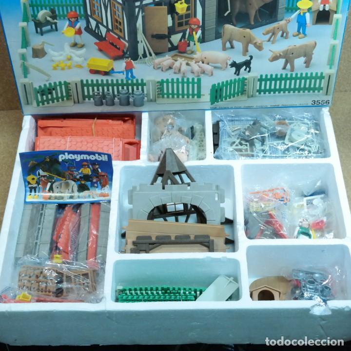 Playmobil: Playmobil 3556 completo con caja, granja medieval steck oeste western animales casa - Foto 2 - 194255470
