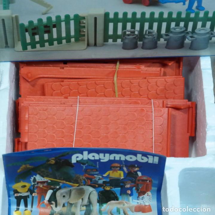 Playmobil: Playmobil 3556 completo con caja, granja medieval steck oeste western animales casa - Foto 4 - 194255470