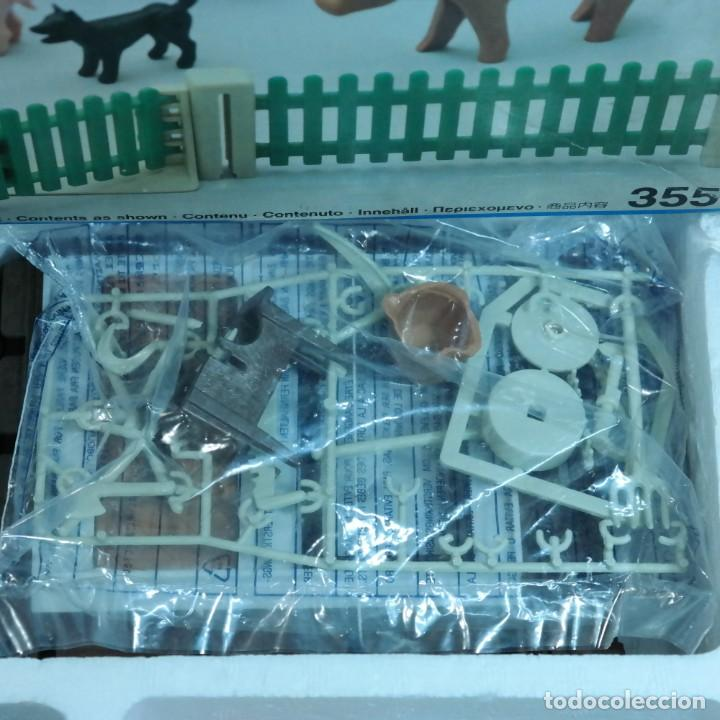 Playmobil: Playmobil 3556 completo con caja, granja medieval steck oeste western animales casa - Foto 8 - 194255470