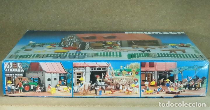 Playmobil: Playmobil 3556 completo con caja, granja medieval steck oeste western animales casa - Foto 13 - 194255470