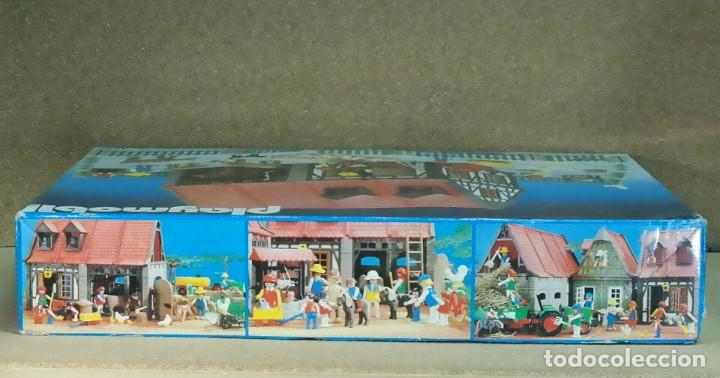 Playmobil: Playmobil 3556 completo con caja, granja medieval steck oeste western animales casa - Foto 14 - 194255470