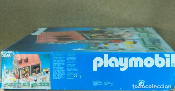 Playmobil: Playmobil 3556 completo con caja, granja medieval steck oeste western animales casa - Foto 16 - 194255470