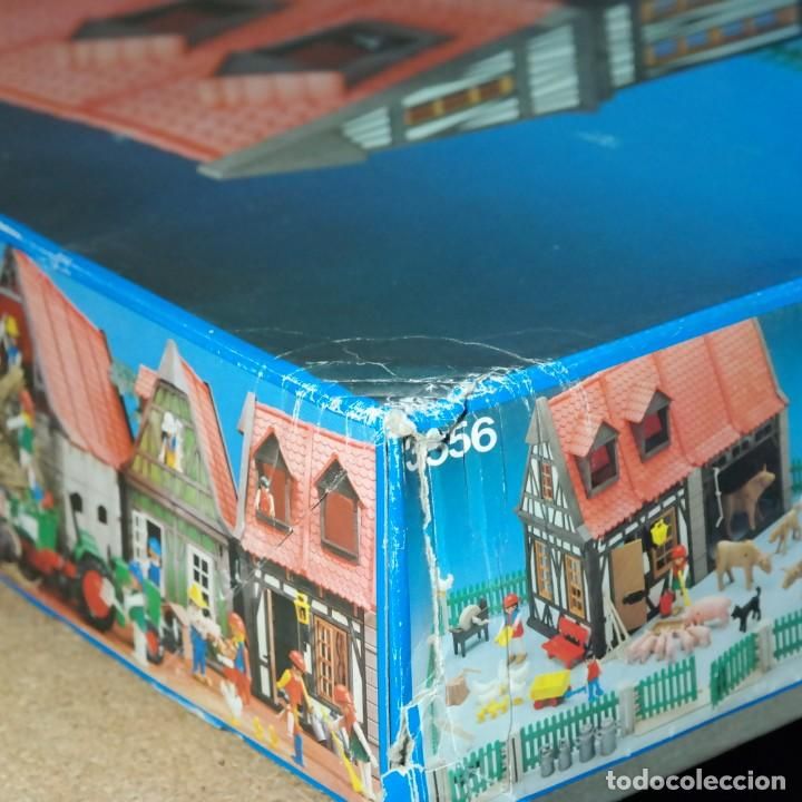Playmobil: Playmobil 3556 completo con caja, granja medieval steck oeste western animales casa - Foto 17 - 194255470