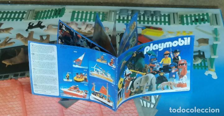 Playmobil: Playmobil 3556 completo con caja, granja medieval steck oeste western animales casa - Foto 18 - 194255470