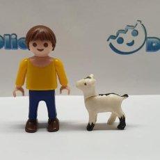 Playmobil: PLAYMOBIL PEDRO CON CABRA HEIDI. Lote 194280351
