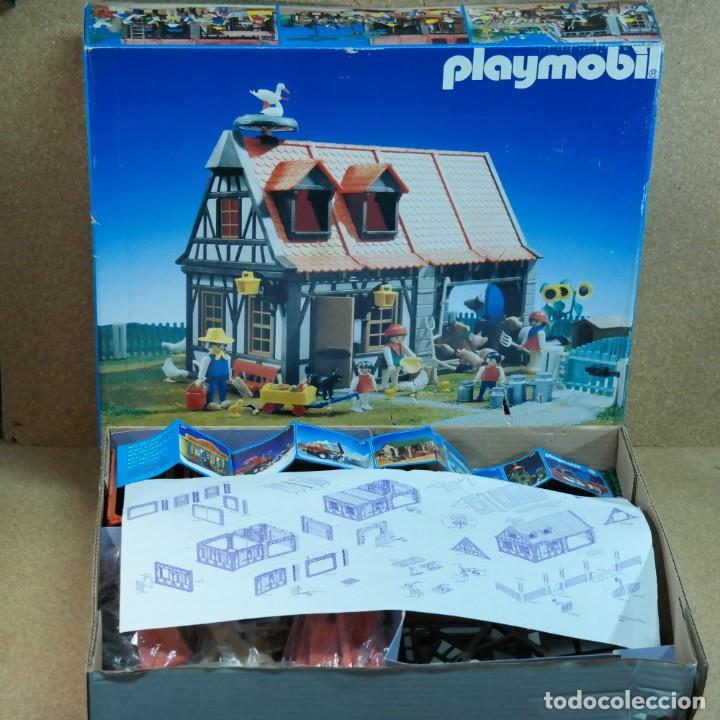 PLAYMOBIL 3556 ANTEX COMPLETO CON CAJA, GRANJA ANIMALES CASA STECK (VERSIÓN CON CIGÜEÑAS) (Juguetes - Playmobil)