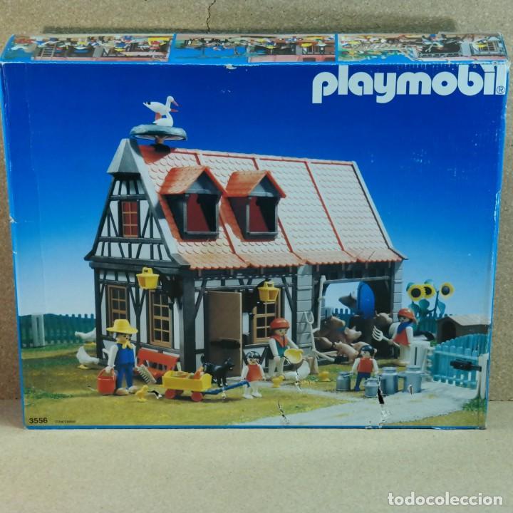 Playmobil: Playmobil 3556 Antex completo con caja, granja animales casa steck (versión con cigüeñas) - Foto 15 - 194357916