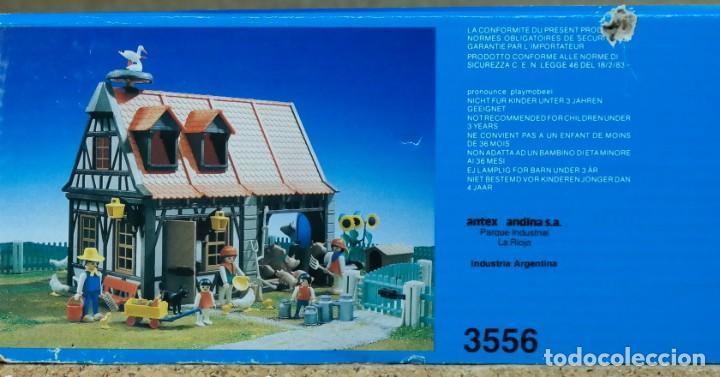 Playmobil: Playmobil 3556 Antex completo con caja, granja animales casa steck (versión con cigüeñas) - Foto 20 - 194357916