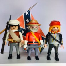 Playmobil: PLAYMOBIL CONFEDERATE INFANTRY. ARMY OF NORTHERN VIRGINIA. Lote 194391072