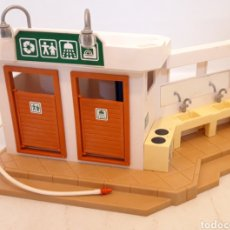 Playmobil: BAÑOS Y FREGADEROS CAMPING PLAYMOBIL. Lote 194503893