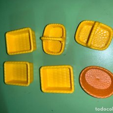 Playmobil: LOTE CESTOS CANASTOS VARIOS COLORES AMARILLOS . Lote 194530218