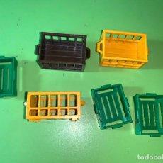 Playmobil: LOTE CAJA COMPRA MERCADO COMPRAS VERDE AMARILLA . Lote 194530365