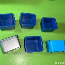 Playmobil: CAJA AZULES COMPRA. Lote 194530437