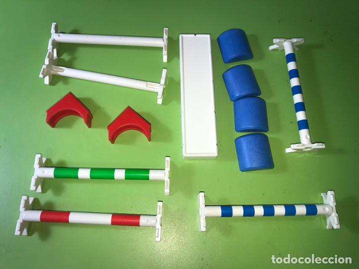 LOTE BARRERA EQUITACIÓN COMPETICIÓN SALTÓ CABALLO (Juguetes - Playmobil)