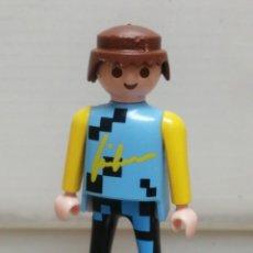 Playmobil: FIGURA MUÑECO PLAYMOBIL CICLISTA GEABRA 1992 . Lote 194542796