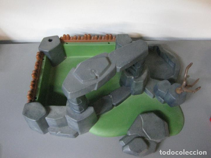 Playmobil: PLAYMOBIL escenario vikingo fortaleza emboscada roca diorama - Foto 2 - 194611392