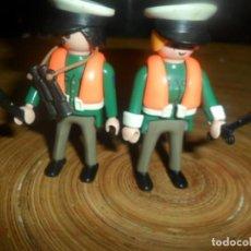 Playmobil: PLAYMOBIL - LOTE POLICIAS ADUANAS - POLICIA ADUANAS + ACCESORIOS -FALTA CARTUCHERA Y PISTOLAS-. Lote 194617640
