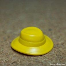 Playmobil: PLAYMOBIL SOMBRERO GORRO AMARILLO VICTORIANO WESTERN OESTE. Lote 194645788