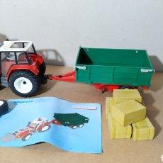 Playmobil: PLAYMOBIL 4496 TRCATOR CON REMOLQUE - GEOBRA 2005. Lote 194671023