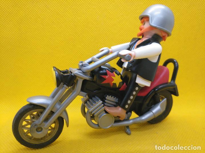 Playmobil: Playmobil Motorista con Chopper REF 3831 - Foto 2 - 194897402