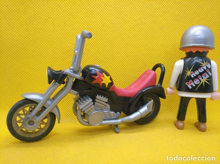 Playmobil: Playmobil Motorista con Chopper REF 3831 - Foto 3 - 194897402