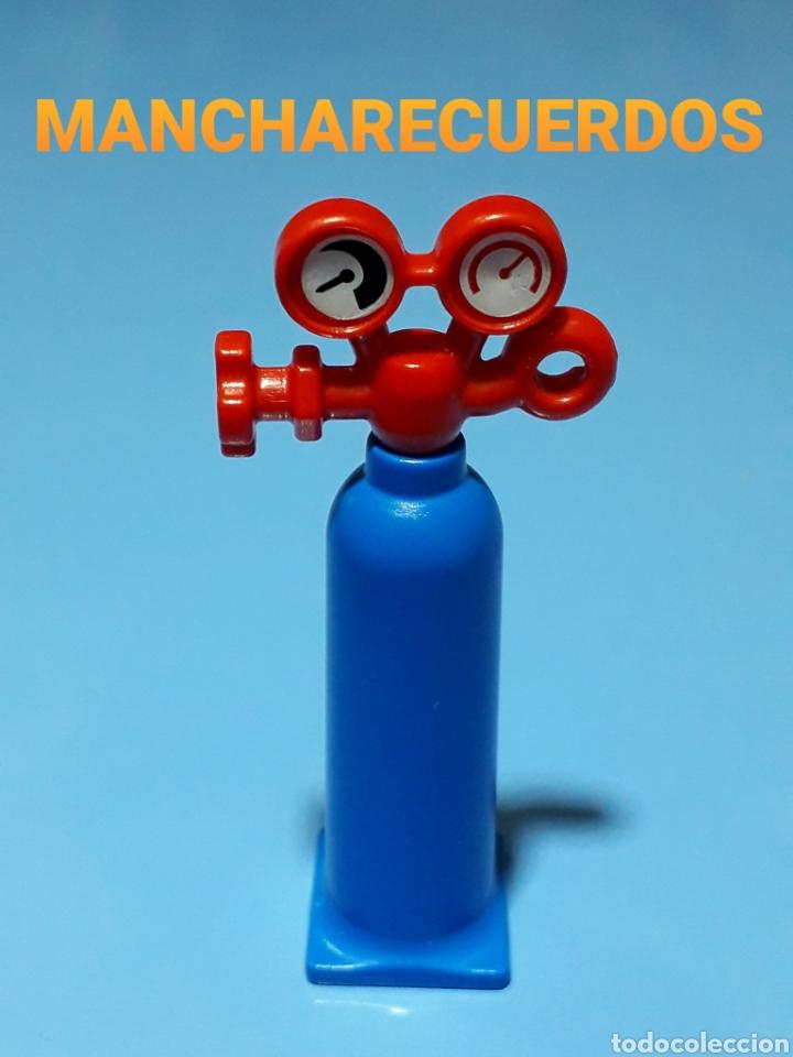 PLAYMOBIL 3161 BOMBONA GAS PROPANO MANOMETRO SOPLETE SOLDADOR 4059 5734 LADRON PLAYMOVIL 30234180 (Juguetes - Playmobil)