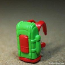 Playmobil: PLAYMOBIL MOCHILA PARA ADULTO, CAMPAMENTO EXPEDICIÓN TURISTA ACCESORIOS. Lote 194906928
