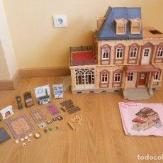 Playmobil: CASA MANSION VICTORIANA ANTIGUA PLAYMOBIL 5300 CON MANUAL DE INSTRUCCIONES Y ACCESORIOS. Lote 194941247