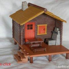Playmobil: PLAYMOBIL CABAÑA BOSQUE, PESCADORES, REF. 3826. Lote 194943335