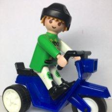 Playmobil: PLAYMOBIL MOTOCICLETA. Lote 194950328
