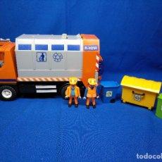 Playmobil: PLAYMOBIL CAMIÓN DE RECICLAJE REF 4418. Lote 194972757