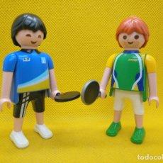 Playmobil: PLAYMOBIL JUGADORES DE PING PONG. Lote 194976512